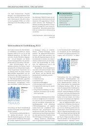 Sektionsbericht Fortbildung 2012 - Zeitschrift für Allgemeinmedizin