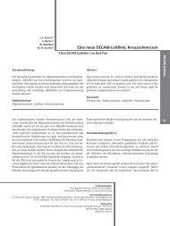 Eine neue DEGAM-Leitlinie: Kreuzschmerzen - Zeitschrift für ...