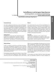 Vorhofflimmern und iatrogene Hyperthyreose
