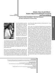 60 Jahre Heinz Harald Abholz – 30 Jahre allgemeinmedizinische ...