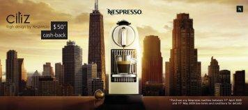 high design by Nespresso - De'Longhi New Zealand
