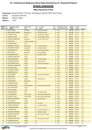 Wyniki bieg popularny 5km PDF - Datasport - Datasport.pl