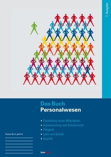 Das Buch Personalwesen - OnlineCenter.ch | Online Shop