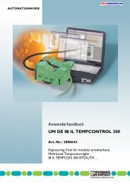 UM DE IB IL TEMPCONTROL 300 Art.-Nr. - Onlinecomponents.com