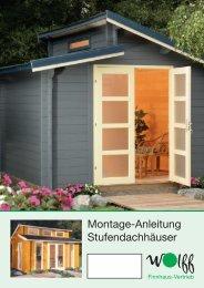 Montage-Anleitung Stufendachhäuser - onlineshop-baumarkt