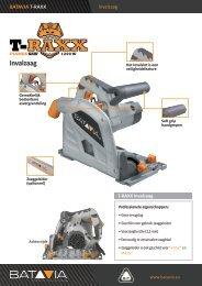 Product Info T-RAXX - Invalzaag 1200 watt
