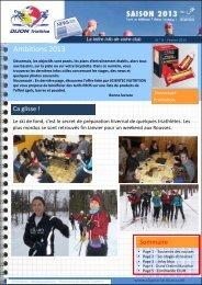 Newsletter n° 4 - OnlineTri.com