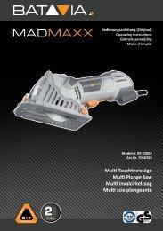 Handleiding MadMaxx - Multi Invalcirkelzaag
