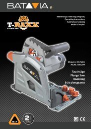 Handleiding T-RAXX - Invalzaag 1400 watt