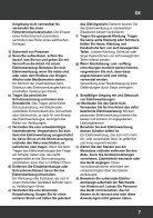 Handleiding T-RAXX - Invalzaag 1400 watt - Page 7