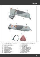 Handleiding Rotosander - Driehoekschuurmachine met verstelbare Schuurkop - Page 3