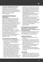 Handleiding Rotosander - Driehoekschuurmachine met verstelbare Schuurkop - Page 7