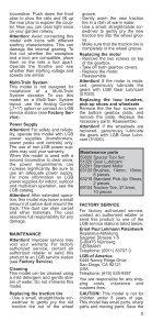 Bedienungsanleitung - Champex-Linden - Page 5