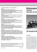 Wichtiger Hinweis zum Mehrzugsystem: Die meisten zur ... - Massoth - Page 2