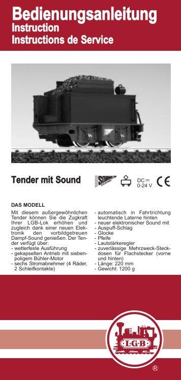 Bedienungsanleitung - Only Trains