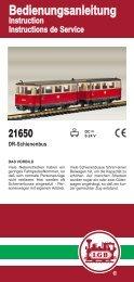21650 Bedienungsanleitungen - Champex-Linden