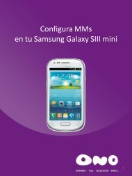 Configura MMS en tu Samsung Galaxy SIII Mini - Ono