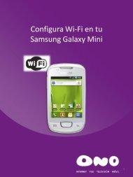 Configura Wifi en tu Samsung Galaxy Mini - Ono
