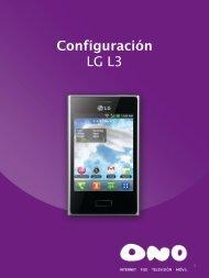 LG L3 - Ono