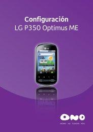 LG P350 Optimus - Ono