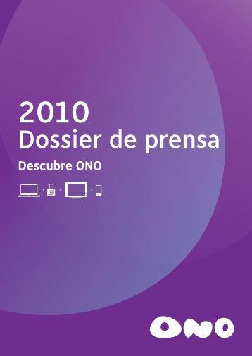 Dossier de prensa - Ono