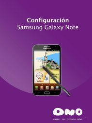 Samsung Galaxy Note - Ono