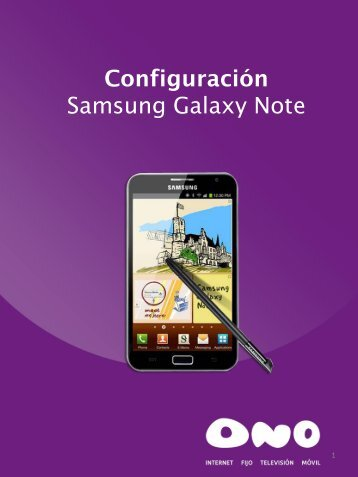 Samsung Galaxy Note - Ono