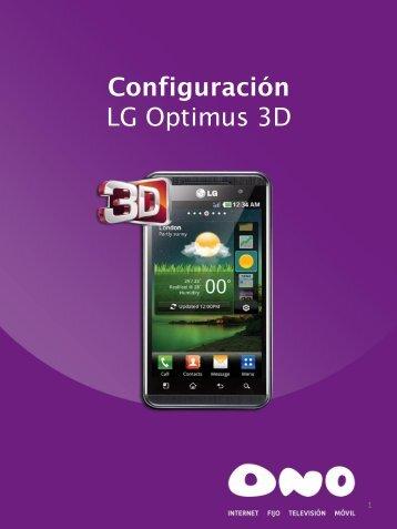 LG Optimus 3D - Ono