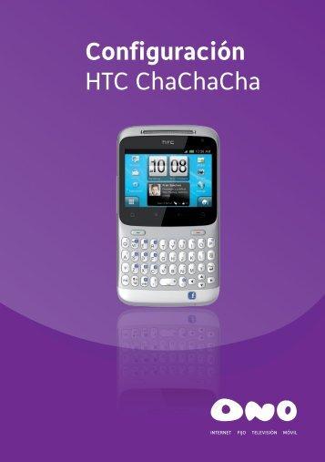 Configuración HTC ChaChaCha - Ono