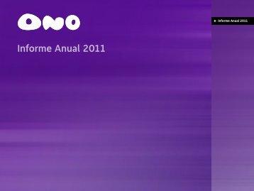 Informe Anual 2011 - Ono