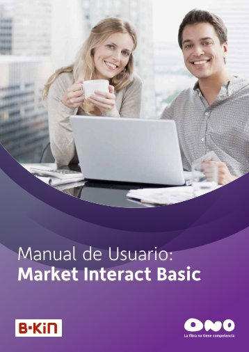 Manual de Usuario: Market Interact Basic - Ono