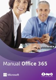 Manual Office 365 - Ono
