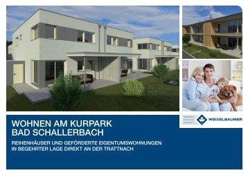 WOHNEN AM KURPARK Bad Schallerbach