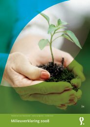Milieuverklaring 2008 - ONP