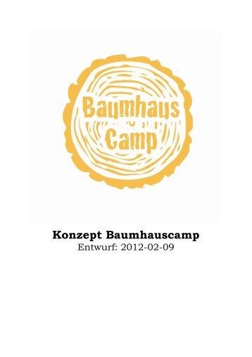 Konzept Baumhauscamp - CVJM Baden