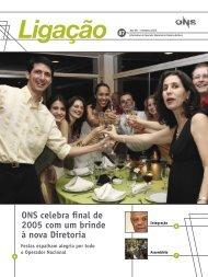 ONS celebra final de 2005 com um brinde à nova Diretoria