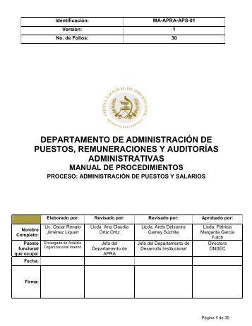 Manual de puestos de servicio civil download
