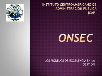 Programa Regional GESTORES DE CALIDAD en la función ... - onsec