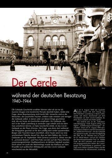 Der Cercle - Ons Stad