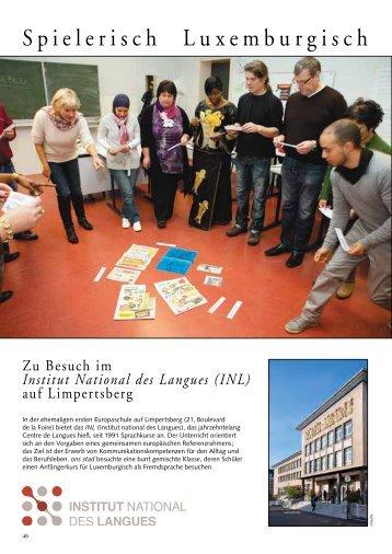 Spielerisch Luxemburgisch - Ons Stad