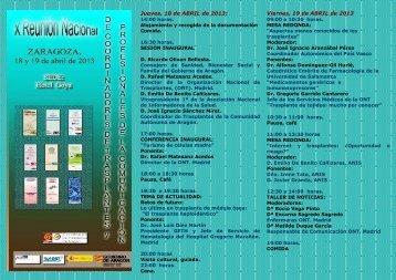 Pre-programaPeriodistas2013 - Organización Nacional de ...