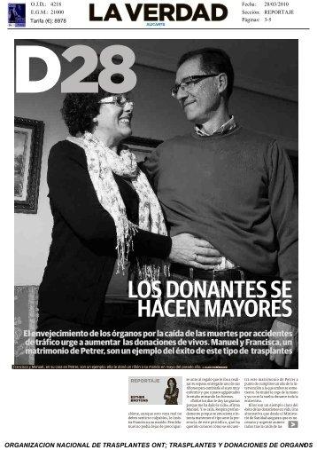 Revista de Prensa - Organización Nacional de Trasplantes