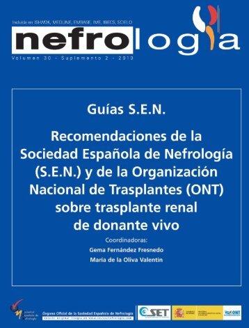 Guias SEN - Organización Nacional de Trasplantes