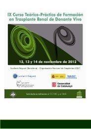 PROGRAMAONT2012Vivo - Organización Nacional de Trasplantes