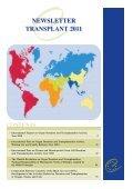Newsletter transplant - Organización Nacional de Trasplantes - Page 3
