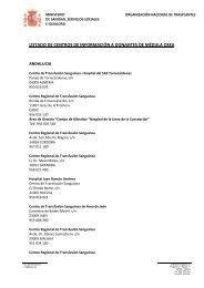 CentrosDonantesMO2013 - Organización Nacional de Trasplantes