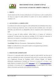 Procedimiento de Acreditación - Organización Nacional de ...