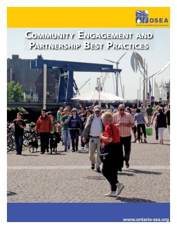 community engagement and partnership best practices - OSEA