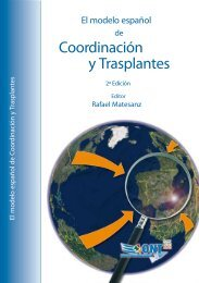 El Modelo español de Coordinación y Trasplantes - Organización ...