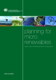 Planning for Micro Renewables Annex to PAN 45 Renewable ...